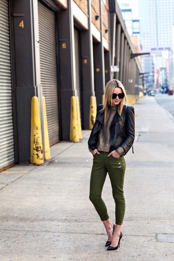 Street Fashion Friday Olive Let 39 S Talk Pretty