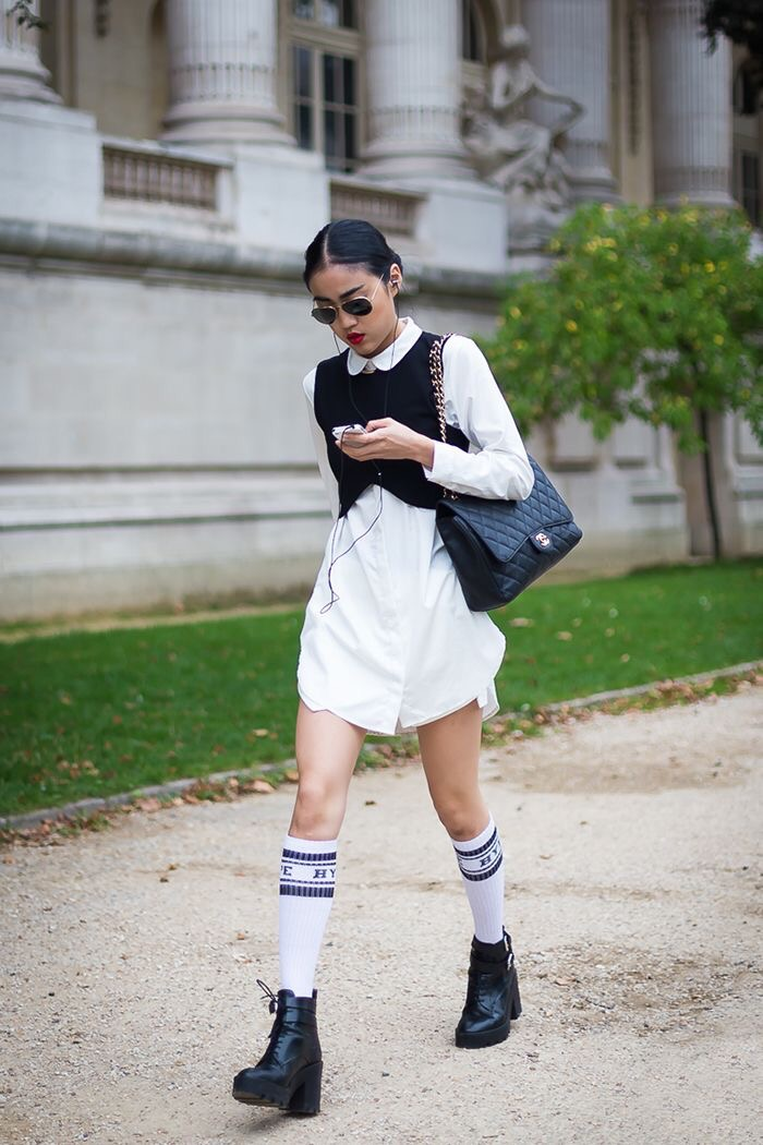 Street Fashion Friday   TheShirtdress