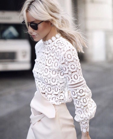 Street Fashion Friday | White