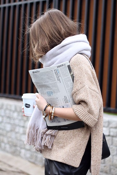 Street Fashion Friday | Oh So Cozy